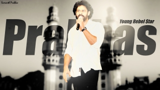 Prabhas at Loafer Audio Launch Design